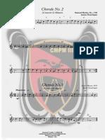 Clarinete em Sib 1 - Chorale No. 2 e 3 - 2020-02-26
