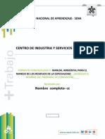 0 FORMATO PARA REALIZAR EL MANUAL AMBIENTAL