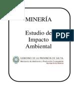Normativa para los estudio de impacto ambiental - eia - iia
