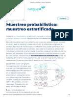 Muestreo Probabilístico_ Muestreo Estratificado