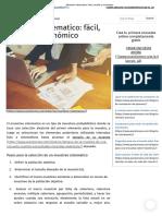 Muestreo Sistematico_ Fácil, Sencillo y Económico