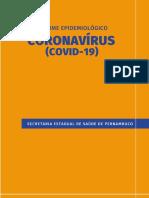 INFORME EPIDEMIOLÓGICO CORONAVÍRUS (COVID - 19) No 18/2020