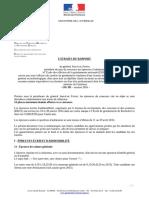 2016 - OD SD - Extraits du rapport
