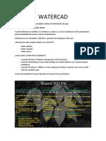 Software de ingeniería para modelar sistemas de distribución de agua