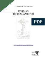 FORMAS DE PENSAMENTO - A. Besant e C.W. Leadbeater