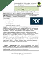 ACTA CONSTRUCCION DEL PLAN OPERATIVO  DE ATENCION INTEGRAL BOLEO MARTES