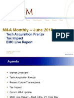 EMC - Tech M&A Monthly