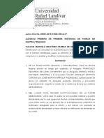 AMPLIACIÓN DE DEMANDA pension