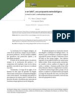 Cómo enseñar en latín una propuesta metodológica