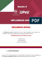 Sesión 9 - Influencia social.pdf