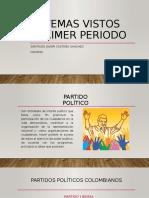 Temas vistos primer periodo competencias ciudadanas