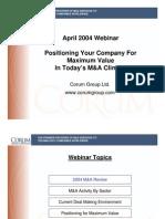 Corum Webinar Apri 22 2004