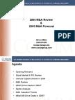 Webinar 011105 Corum Group 2004 M&a Review & 2005 Forecast