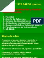 Ley  SAFCO