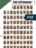 DWI Convictions Oct.-Dec. 2010