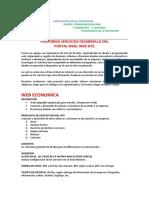 2020 PROFORMA SERVICIOS DESARROLLO DE PORTAL WEB 3