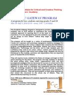 ICCT Summer Academy Brochure
