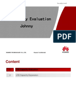LTE Capacity Evaluation