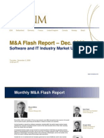 Rise in Valuations - December M&A Flash Report