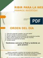 Presentación - Use la pirámide invertida
