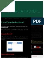 [Linux] Compilando o Kernel