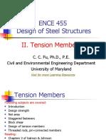 Design of Steel Structure - Steel Design Tension Members