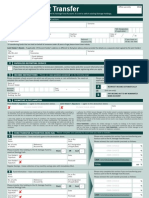 Hargreaves Lansdown Fund Account - Transfer Form