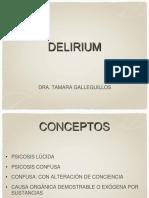 9. Delirium - Psicosis Orgánicas Agudas (2014)