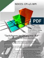CPI vs WPI