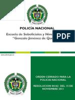 MATERIAL DE ESTUDIO - ORDEN CERRADO