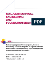 Soil, Geotechnical and Foundation Engineering