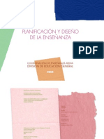planificacion y diseño de la enseñanza