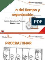 Gestion y organizacion del tiempo
