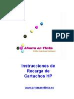 Instrucciones de Recarga Hp