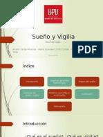 SUEÑO Y VIGILIA - NEUROBILOGÍA