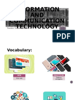 information and communication technology vocabulary