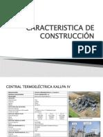 CARACTERISTICA DE CONSTRUCCION