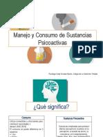 Manejo y Consumo de Sustancias Psicoactivas