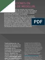 INTERVENCIONES EN COMUNAS DE MEDELLIN