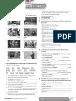 Achievers B1 Vocabulary Worksheet Consolidation Unit 4