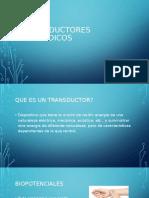 TRANSDUCTORES BIOMEDICOS
