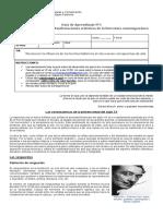 4° - Guía n°3 literatura contemporánea