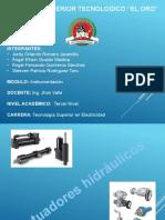 Actuadores hidráulicosDiapositias