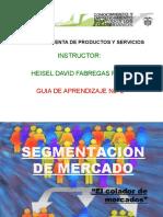 segmentacion de mercado  2014 HEISEL