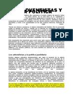 LOS ADVENTISTAS Y LA POLÍTICA
