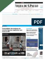 (Notícia) Comunidades descendentes de escravos buscam regularizar suas terras no RS.pdf