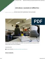 (Notícia) Ensino médio perde alunos e acumula 1,5 milhãofora da escola.pdf