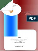 planes y politicas ambientales