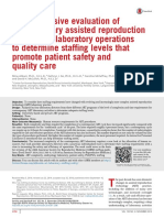 Comprehensive evaluation of contemporary assisted reproduction technology laboratory operations to determine staffing levels that promote patient safety and quality care