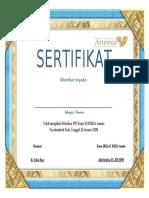 sertifikat PPI
